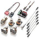 emg solderless wiring kit for 1-2 active pickups - short shaft (strat)