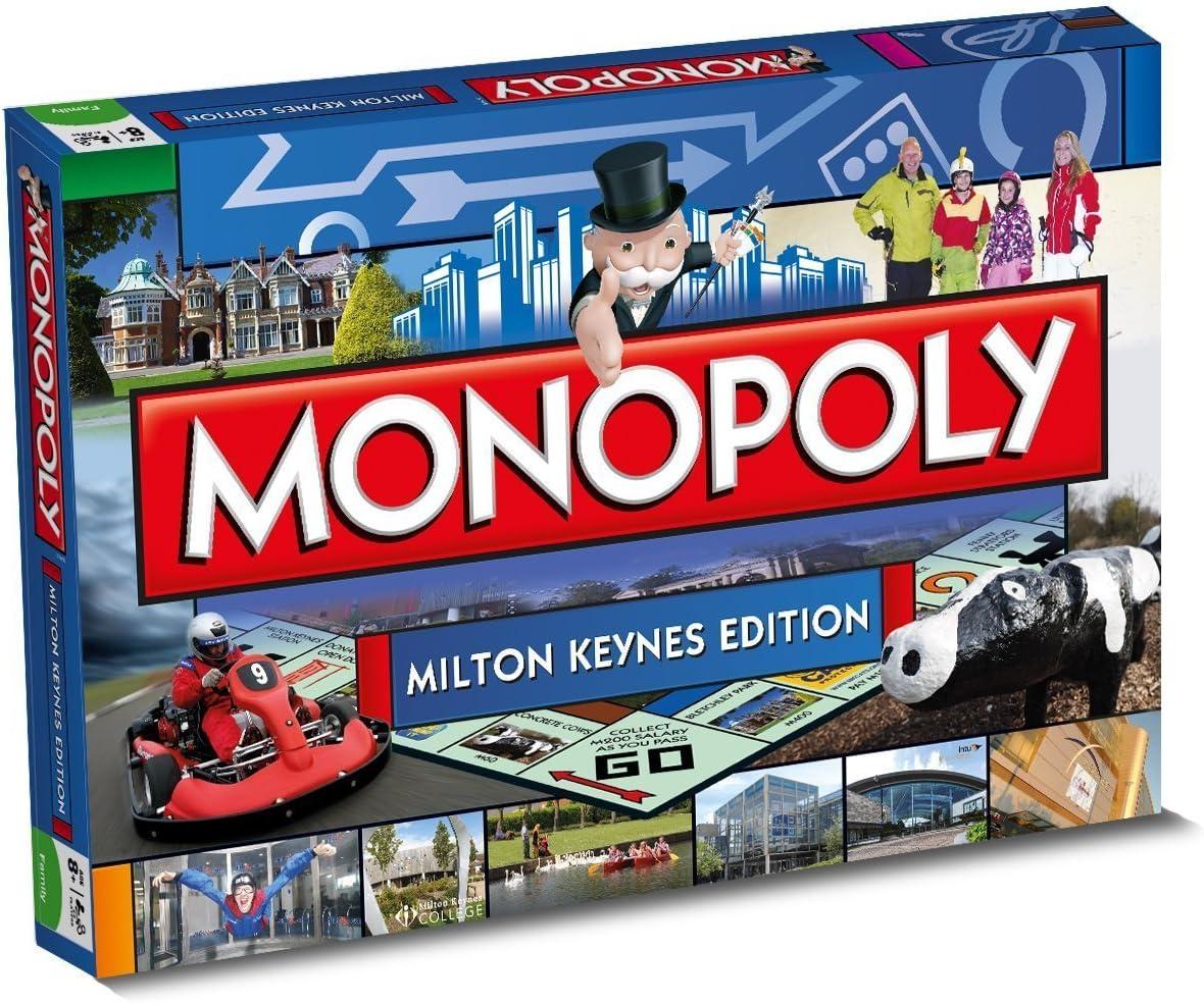 Monopoly - Juego de Tablero, de 2 a 6 Jugadores (Winning Moves 22866) (Importado): Amazon.es: Juguetes y juegos