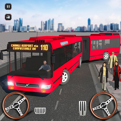 Smart Coach Bus Driving School Simulator: Metro City Bus Driving Games FREE ()