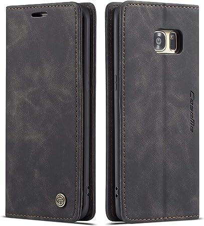 Qltypri Hülle Für Samsung Galaxy S7 Edge Vintage Dünne Elektronik