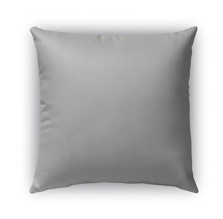 - Grey Size: 20X20X6 - KAVKA Designs Capri Indoor-Outdoor Pillow, TELAVC1001OD20