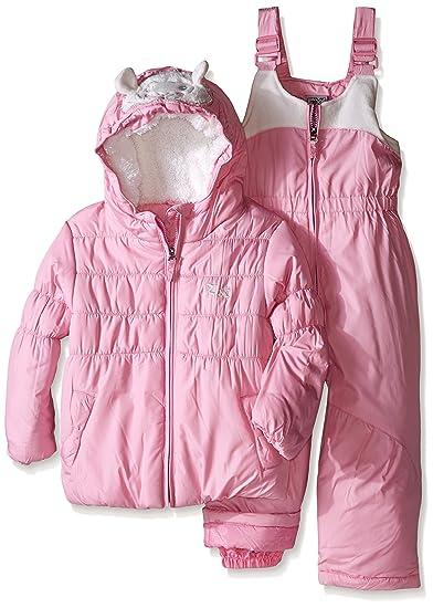 92e0e3a56 Amazon.com  ZeroXposur Girls  Toddler Lillian Snowsuit
