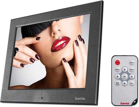 Hama Digitaler Bilderrahmen Slimline Basic 8 Zoll Kamera