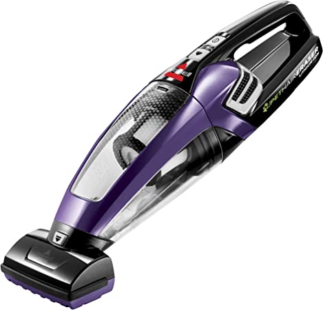 BISSELL Pet Hair Eraser Lithium Ion Cordless Hand Vacuum, Purple best handheld vacuum