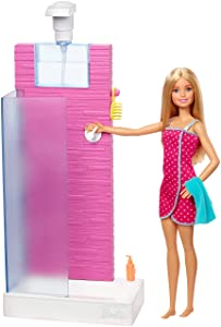 Barbie Shower Playset