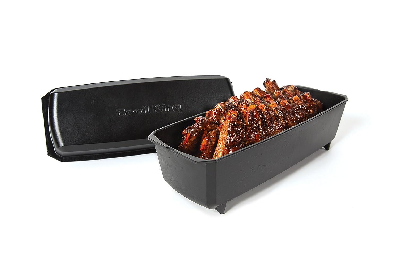 Spareribs Gasgrill Broil King : Broil king rib roaster amazon garten