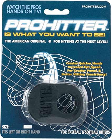 Black Prohitter Batters Training Aid Adult Size
