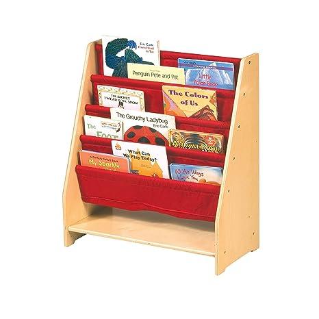 Amazon Guidecraft Canvas Sling Bookshelf