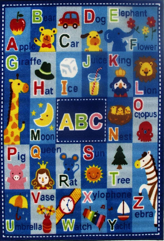 Amazon.com: Fun Rugs FT-95 3958 Fun Time Letters & Names: Kitchen ...