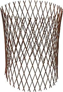 MGP Circular Willow Lattice Fence, Expandable to 36