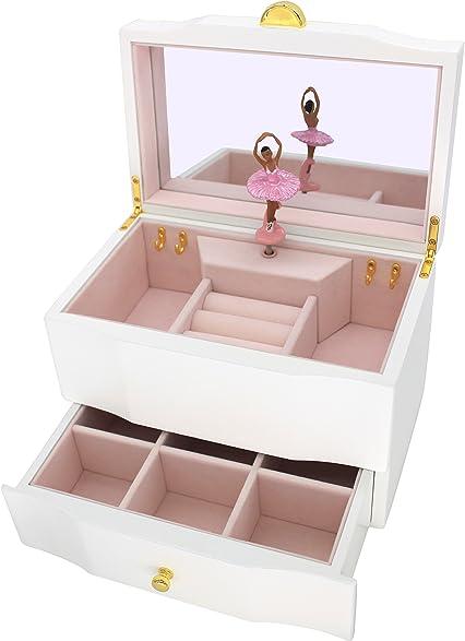 Amazoncom Attii African American Ballerina Jewelry Box Wooden