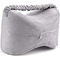 Knee Pillows Memory Foam Leg Pillow Slow Rising Cushion-Ergonomically Designed for Pregnancy, Back Pain, Sciatic Nerve…