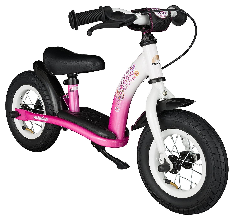 BIKESTAR Kinder Laufrad Lauflernrad Kinderrad für Mädchen ab 2-3 Jahre   10 Zoll Classic Kinderlaufrad