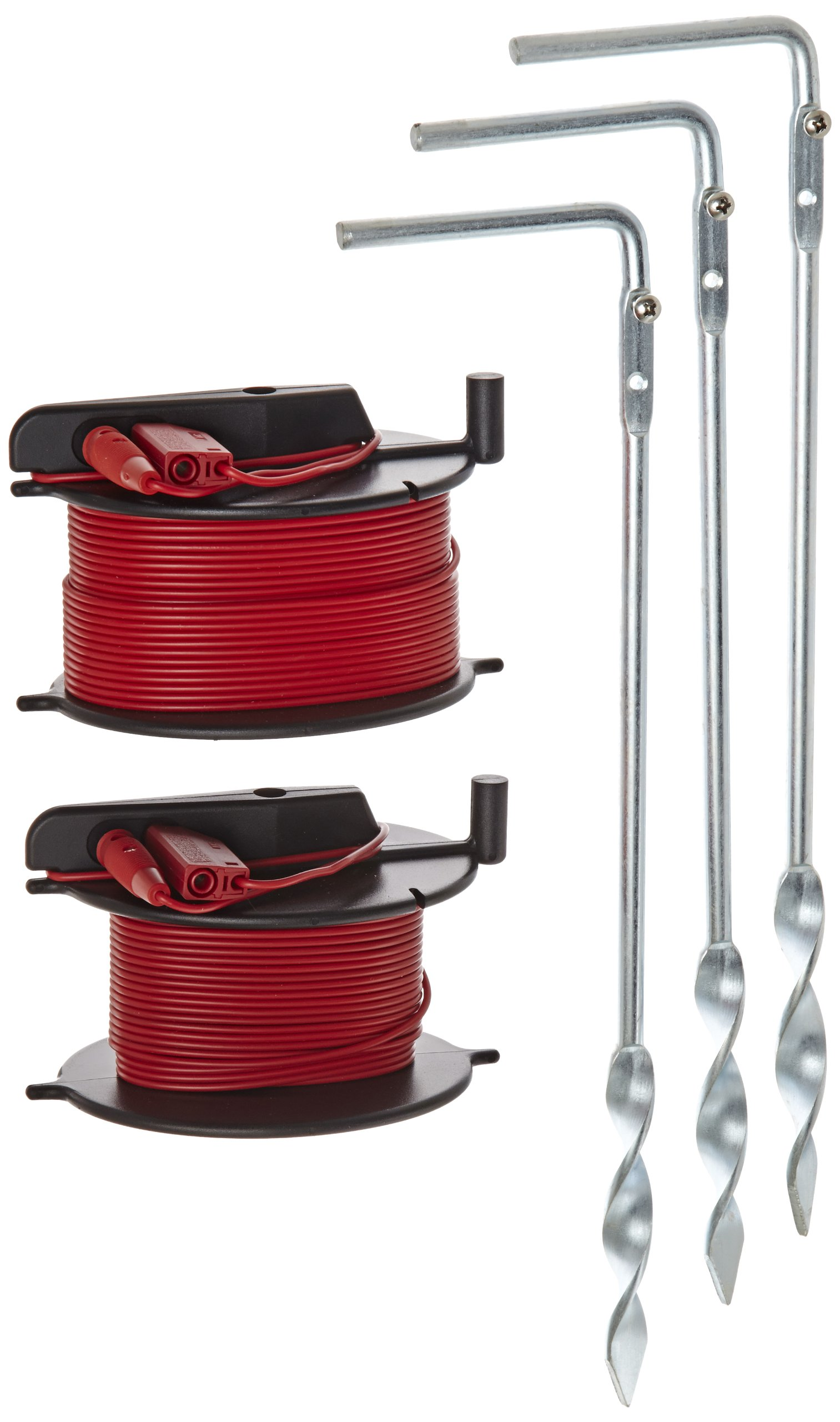 Fluke ES-162P3 5 Piece Stake Kit for Fluke 1623 and 1625 Earth Ground Testers, 3-Poles