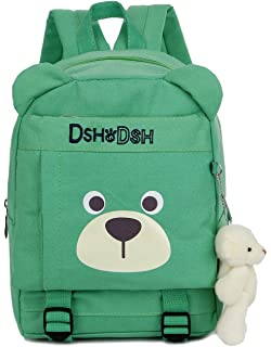 Canvas Kid Toddler Backpack Folder A4 with Safety Harness Leash for Under 5 Year