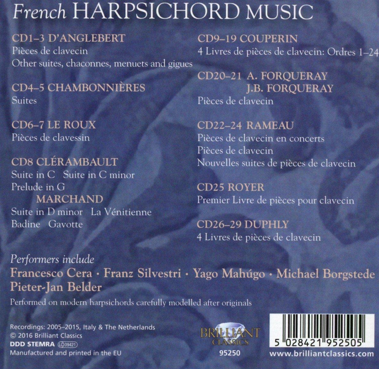 Harpsichord Pieces, Book 2, Suite 10, No.1:  La Triomphante  Rondeau. 1. Bruit de Guerre