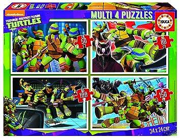 Amazon.com: Tortugas Ninja.(Multi 4 puzzles/50,80,100,150 ...