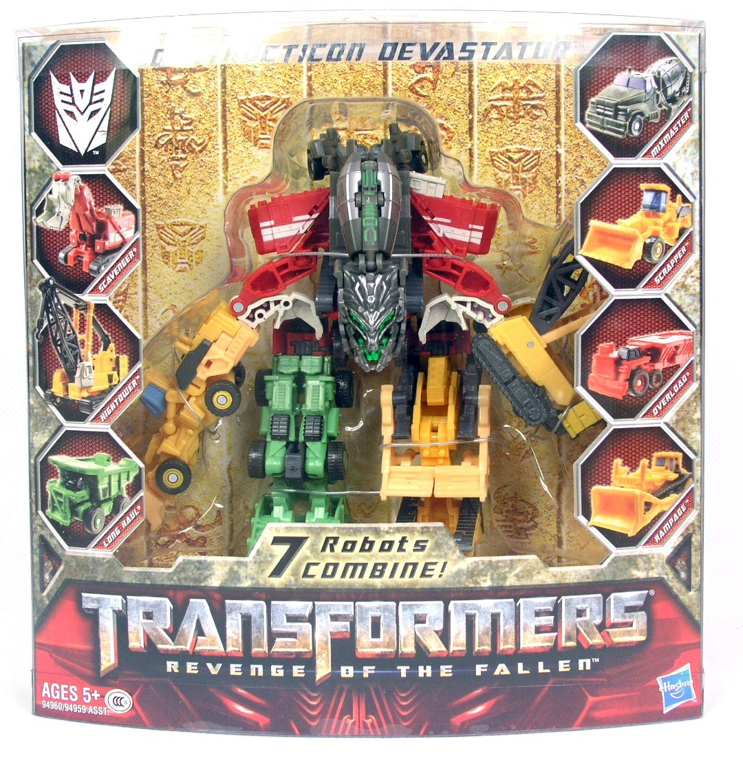 HASBRO TRANSFORMERS DEVASTATOR COMBINE 7 ROBOT TRUCK CAR ACTION FIGURES KIDS TOY
