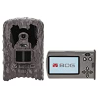 BOG Invisible Flash and Infrared Game Cameras with Removable Viewing Screen, Image Tagging and HD Video for Hunting, Land Management, Security and Outdoors
