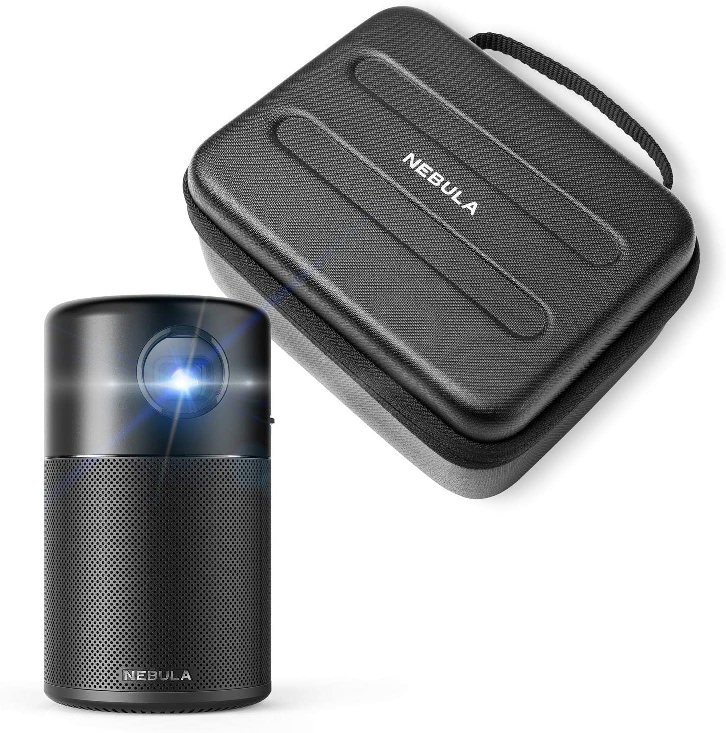 Anker Nebula Capsule Mini Projector with Anker Nebula Capsule Official Travel Case