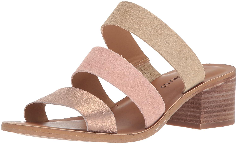 Lucky Brand Women's rileigh2 Slide Sandal B077G8B2PW 6.5 B(M) US|Washed Rose