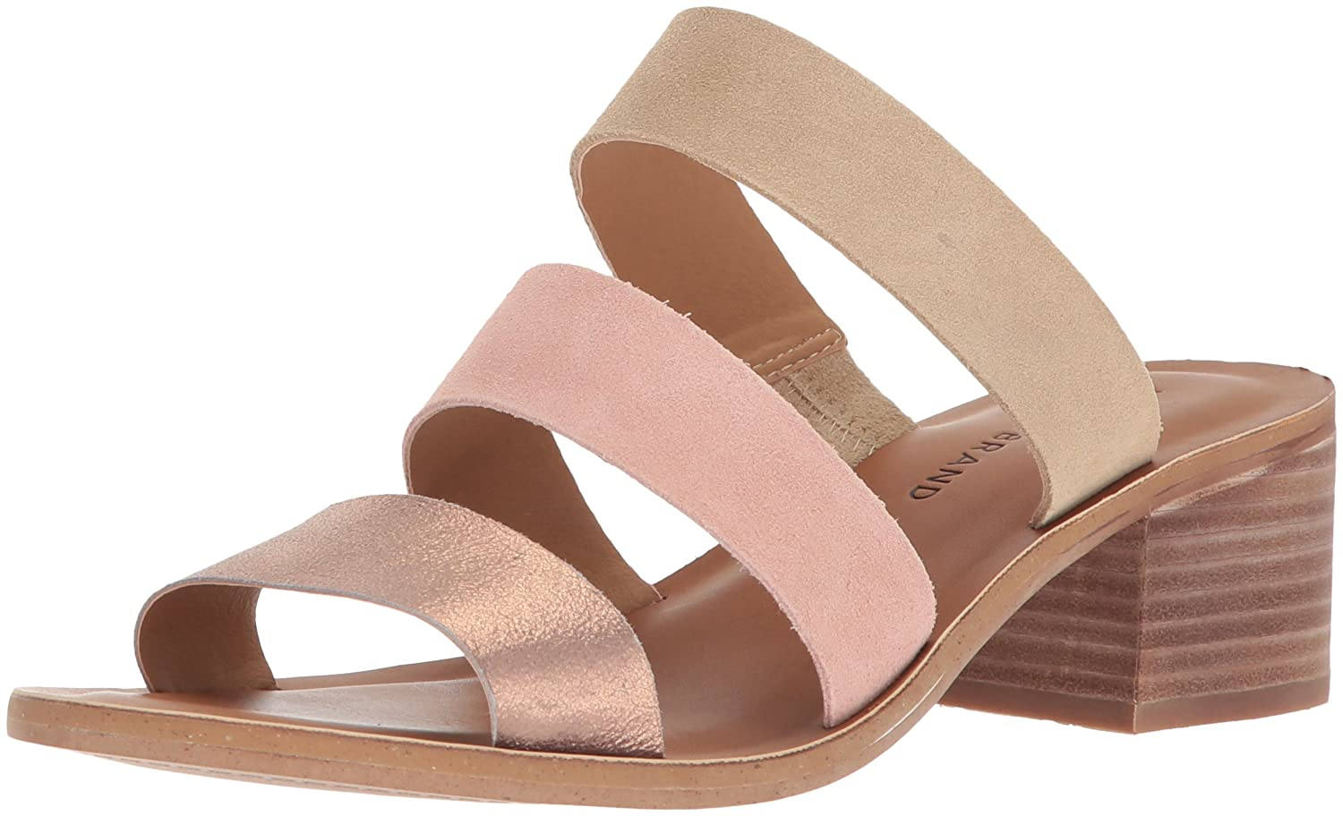 Lucky Brand Femmes Slide Chaussures Couleur Rose Washed Rose Taille 37 EU / 6 Us