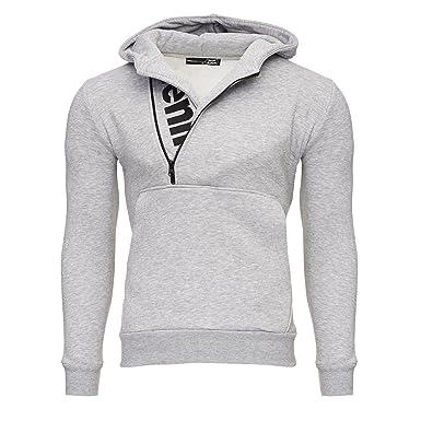 c168df53c354 Tazzio Herren Styler Sweatshirt mit Kapuze Pullover Hoodie 16214   Amazon.de  Bekleidung