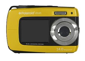 c3731edffeb5a Polaroid IF045-YEL-INT- Cámara compacta digital acuática (doble pantalla  LCD, zoom óptico 5x), color amarillo  Amazon.es  Electrónica