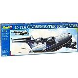 Revell Modellbausatz 04674 - C-17 Qatar/RAF im Maßstab 1:144