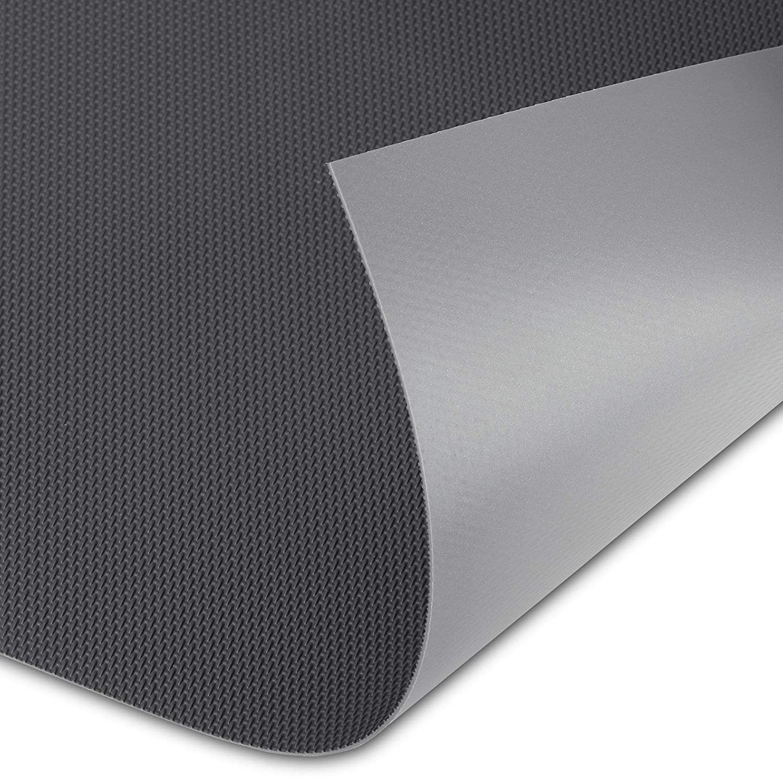 ORGA-WEAVE Antirutschmatte 473 x 325 x 1, 1 mm (zuschneidbar) grau passgenau für Blum Legrabox mit 400 mm Korpusbreite und 16 mm Seitenwand Schubkasteneinlage von SO-TECH® SOTECH