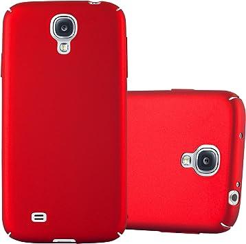 Cadorabo Funda para Samsung Galaxy S4 en Metal Rojo: Amazon.es: Electrónica