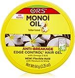 Organic Root Stimulator Monoi Anti-Breakage Edge Control Oil, 2.25 Ounce