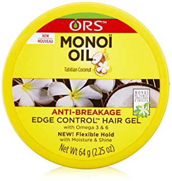 Organic Root Stimulator Monoi Anti-Breakage Edge Control - Best Edge Control for Pressed Hair