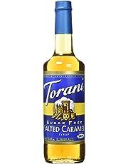 Torani Torani Sugar-Free Salted Caramel Syrup, 750ml, 750 milliliters