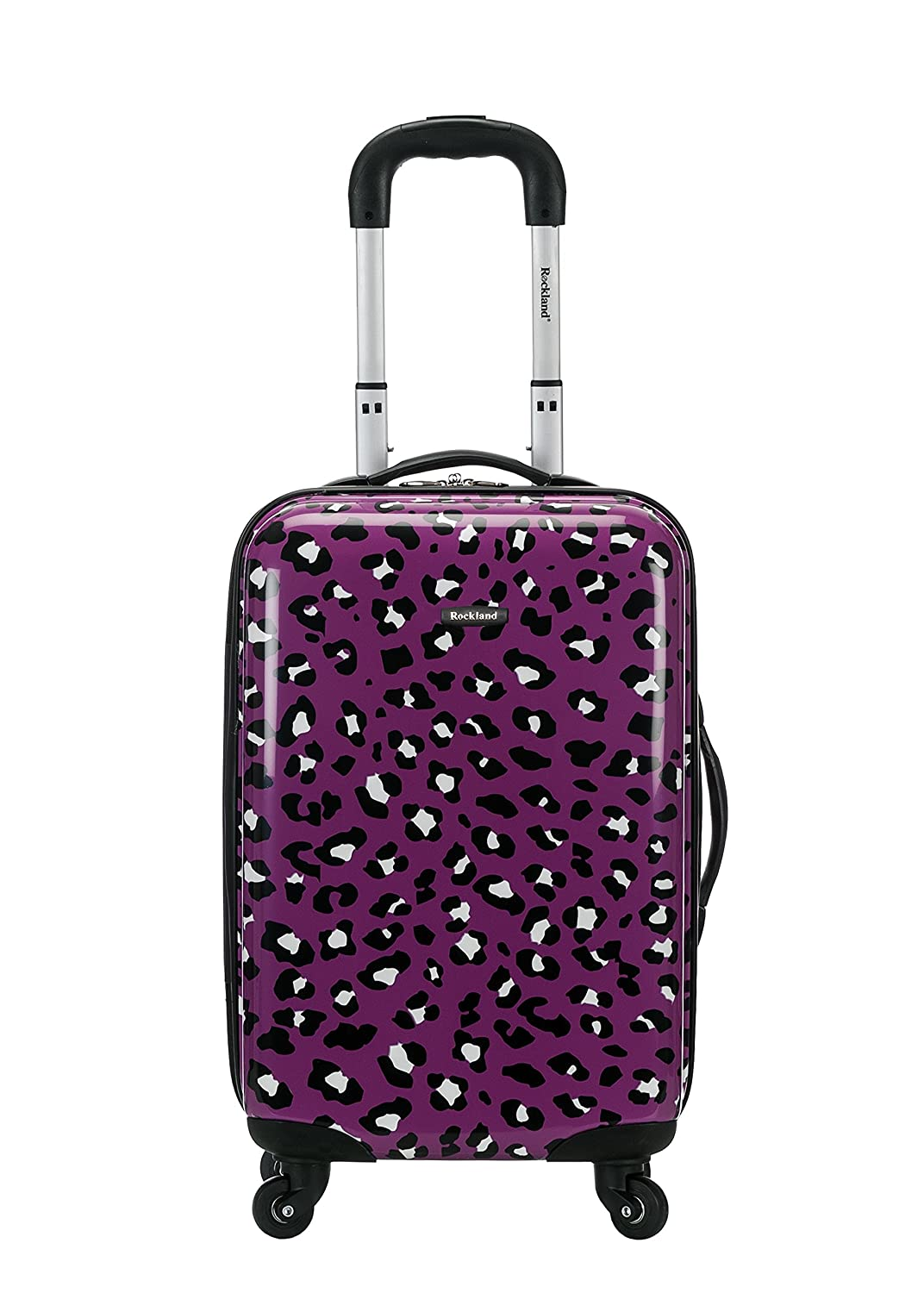 Rockland F191 Luggage Carry On Skin, Pink Zebra, Medium, 20-Inch F191-PINKZEBRA