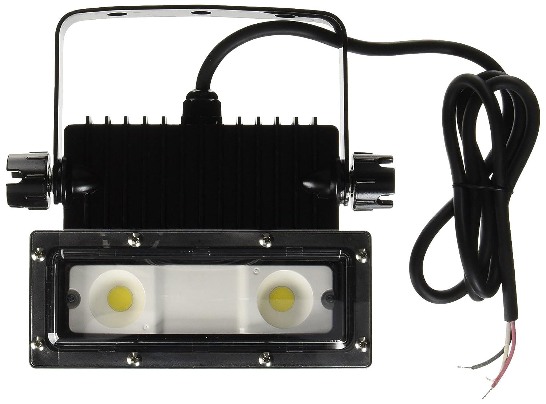 アイリスオーヤマ LED 投光器 角型 屋外 25W 防雨形 エコハイルクスパワー IRLDSP25N2-W-BK 事 B01I99LQM4 26051