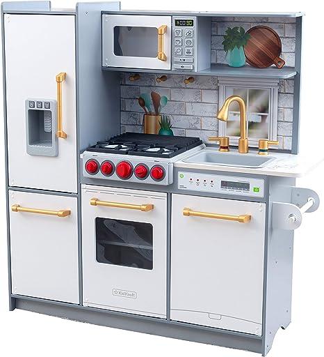 KidKraft- Cocina de madera de juguete Uptown Elite para niños con ...