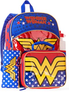 2d1eba4780 Amazon.com  Dawn of Justice Wonder Woman Backpack 18 x 19in by ...