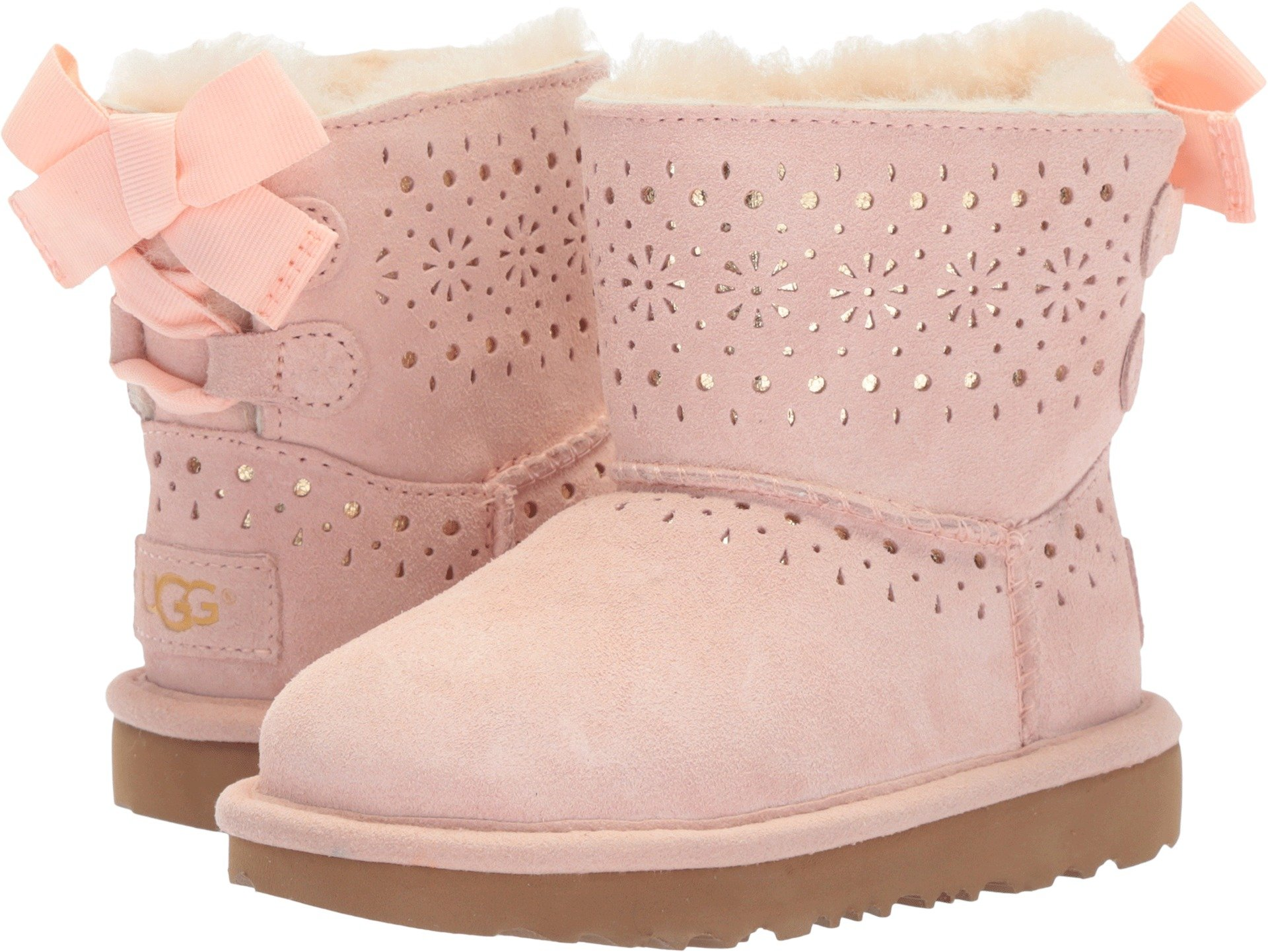UGG Little Kids Dae Sunshine Perf Boot Baby Pink Size 12 Little Kid M