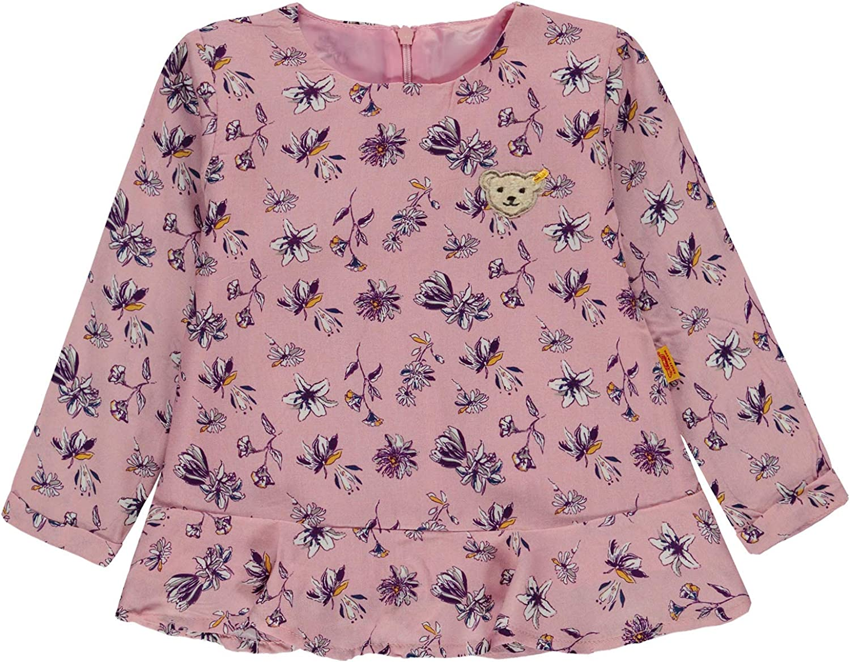 STEIFF T-Shirt Tunika Libelle Blumen allover prism pink rose Confetti 6913231