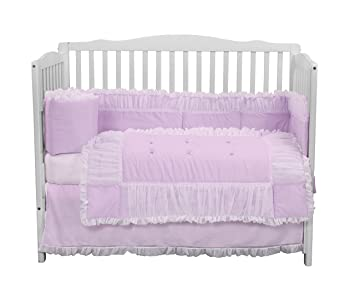 Lavender Baby Doll Bedding Sweet Touch Baby 3 Piece Cradle Bedding Set