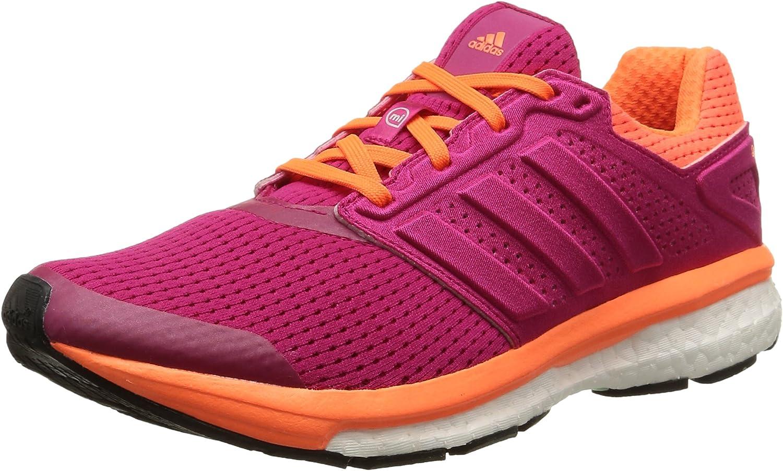 adidas Supernova Glide Boost 7, Zapatillas de Running para Mujer, Magenta/Naranja, 44 EU: Amazon.es: Zapatos y complementos