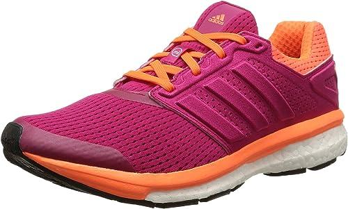 intersección corto Política  Adidas Women's Supernova Glide Boost, Pink (Bold Pink/Bold Pink/Solar  Orange), 5.5 UK: Amazon.co.uk: Shoes & Bags