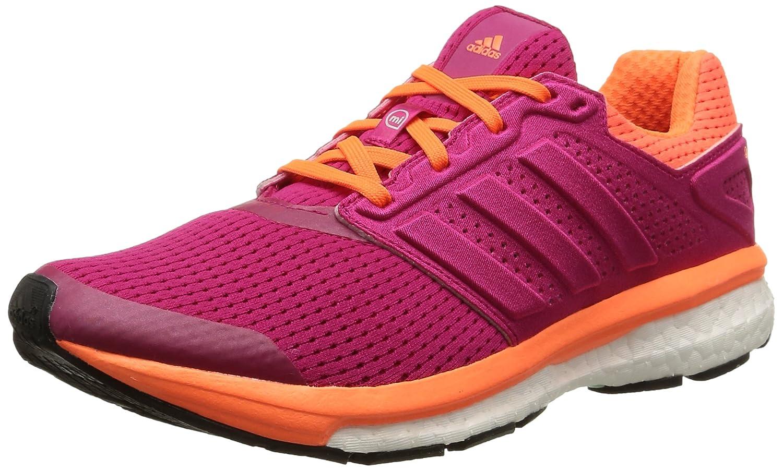 Adidas Supernova Glide Boost 7 - Zapatillas para Mujer 36 2/3 EU|Rosa (Bold Pink/Bold Pink/Solar Orange)