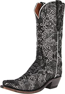 2328da2a162 Amazon.com | Lucchese Women's Western Boot | Mid-Calf