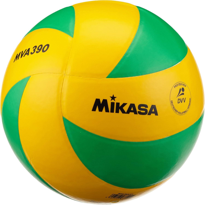 MIKASA MVA 390 CEV Voleibol, Amarillo/Verde, 5, 1172: Amazon.es ...