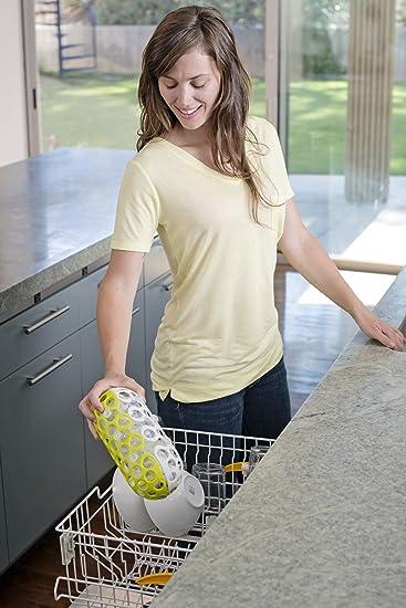 Amazon.com: Boon Embrague lavaplatos cesta, color verde: Baby