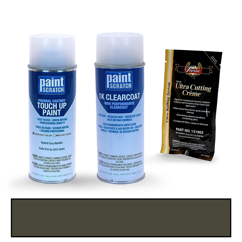 Amazon com: PAINTSCRATCH Asphalt Gray Metallic 61K for 2015