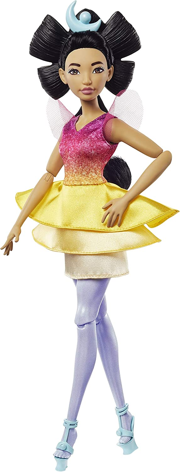 Mattel Netflix's Over The Moon, Chang'e Goddess Doll (13-inch) with Removable Dress and Shoes, Great Gift for Kids Ages 5Y+