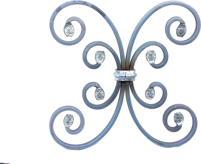 Rejilla de hierro forjado Ornament para barandas, ventanas, etc ...